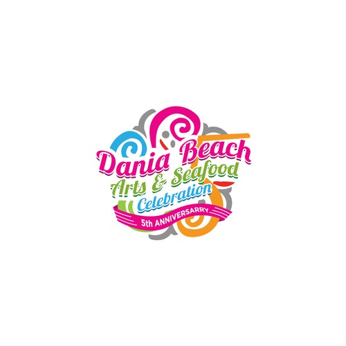 Dania Beach (small) Arts and Seafood Celebration (big)