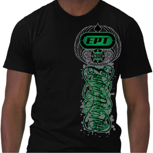 POKER COMPANY T-SHIRT DESIGN