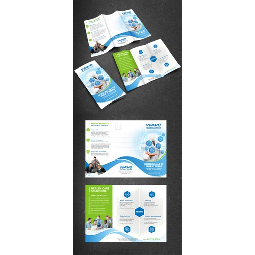 Creation of Healthcare IT Consulting Brochure