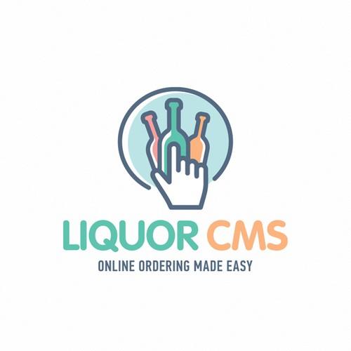 Online Liquor store logo