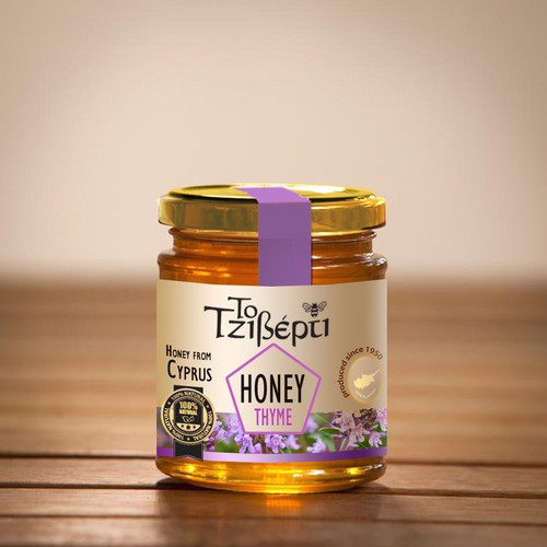 Help Honeymell with a new product label for Honey