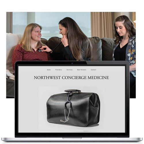 Squarespace Website Finishing & Training for a Medical Company