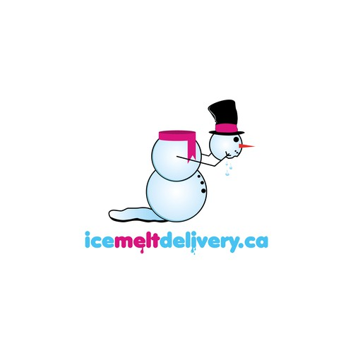 Ice melt delivery