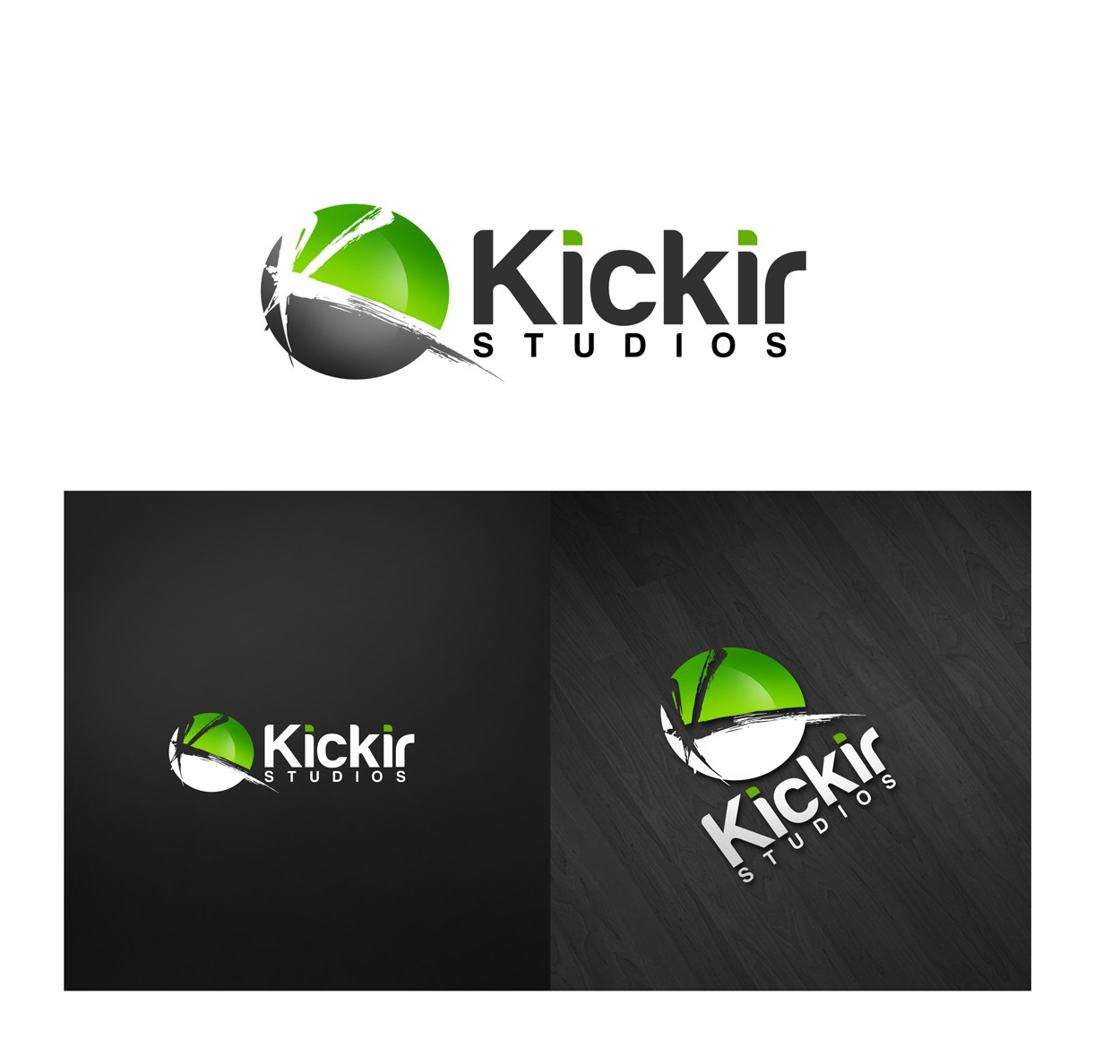 New logo for Kickir Studios