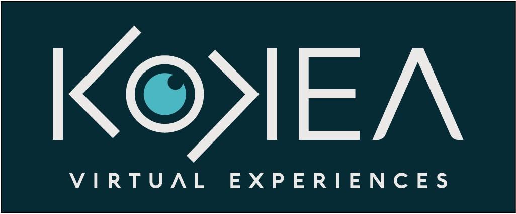 Logo for a virtual content company