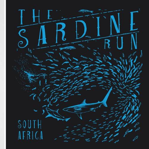 Illustrative T-Shirt Design for a Diving Tour
