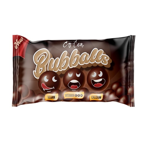 Chocolate Ball Packaging Design