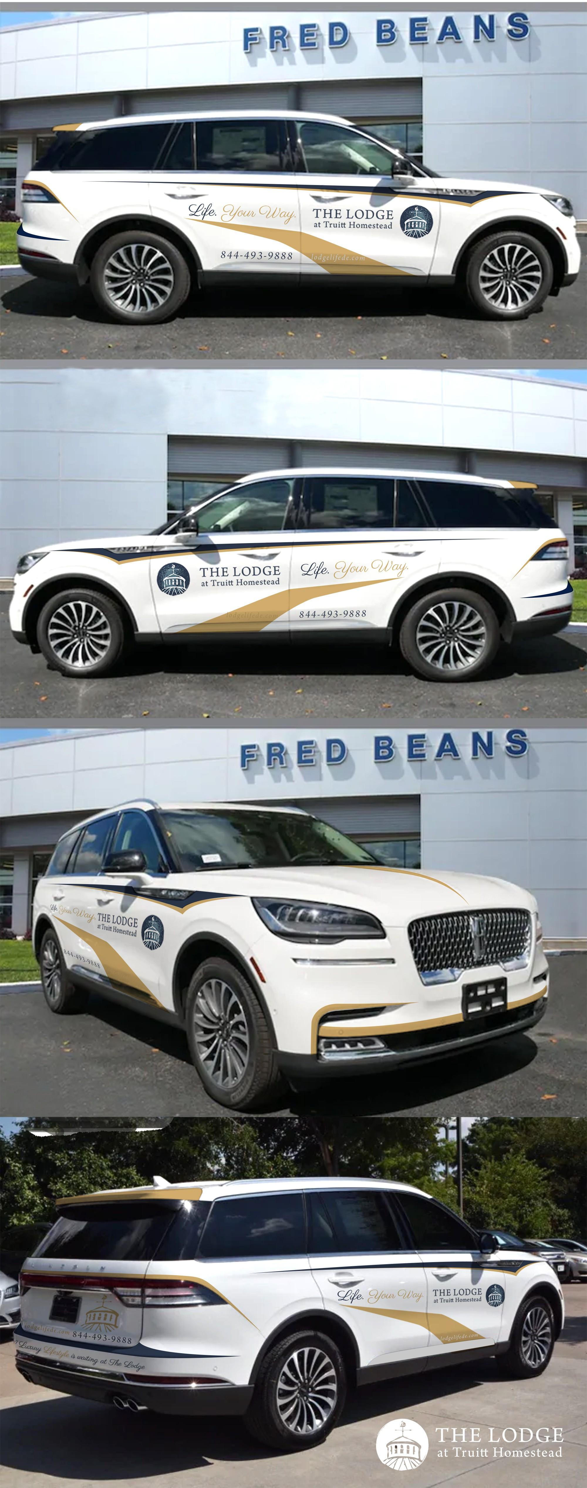 Partial Vehicle Wrap for Luxury Senior Community