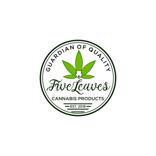 Cannabis Logo Needed for New Brand - Five Leaves