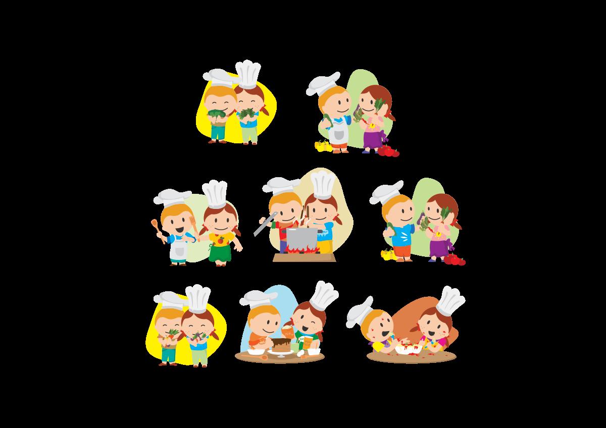 """Kidsbox - Ben & Mia designs """"kitchen / cooking"""""""