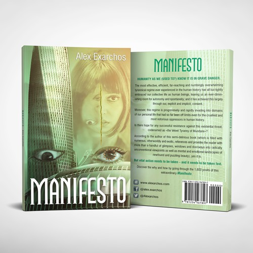 Book cover for an unconventionally revolutionary Manifesto