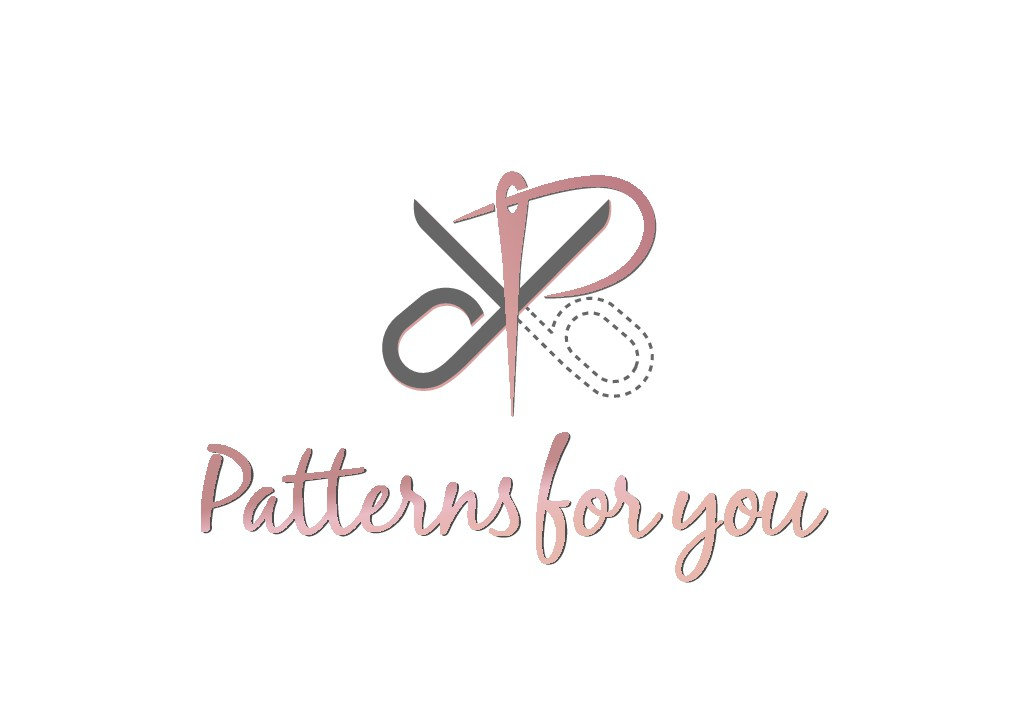 Logo for printing site and sale of sewing patterns on paper.