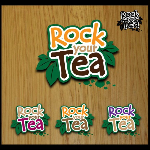 "Help Fava ""Rock Your Tea"" with Text Graphic"