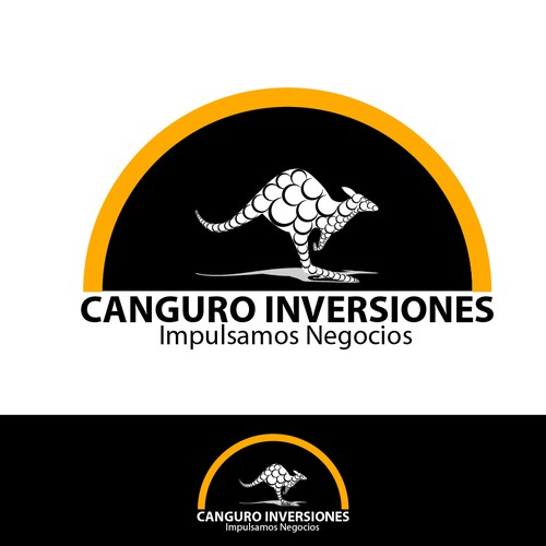 logo concept for Canguro Inversiones
