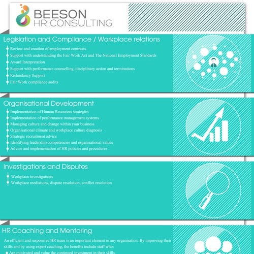 Beeon HR Consulting Infographic
