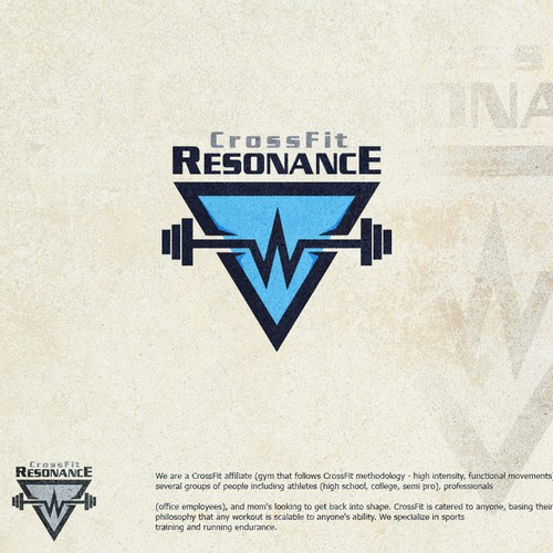 logo for CrossFit Resonance