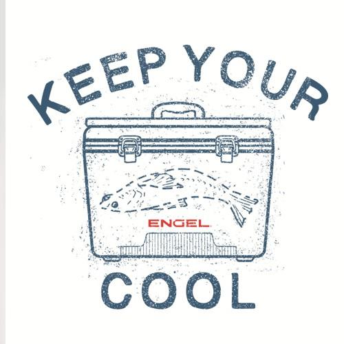 "Promo T-shirt Design for a ""ENGEL"" Coolers brand"