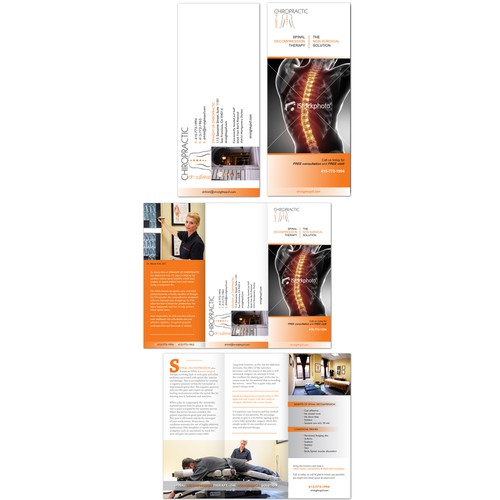 New brochure design wanted for Straight Up Chiropractic