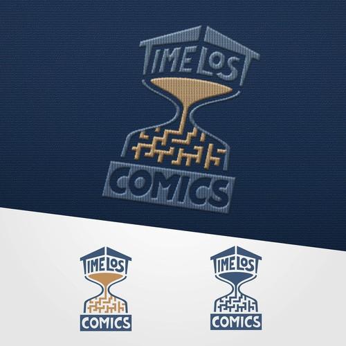 TimeLost Comics - Logo design