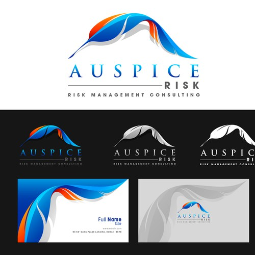New logo and business card wanted for Auspice Risk