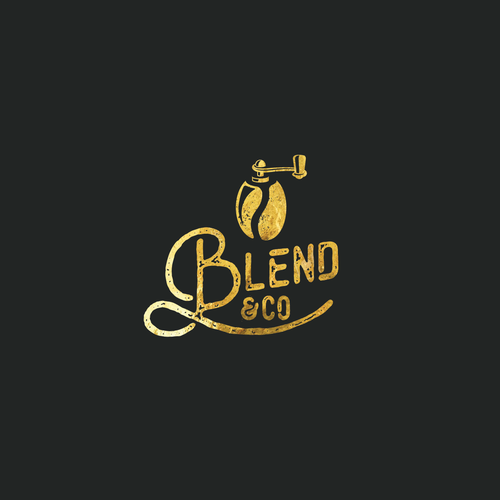 Logo for coffee kiosk