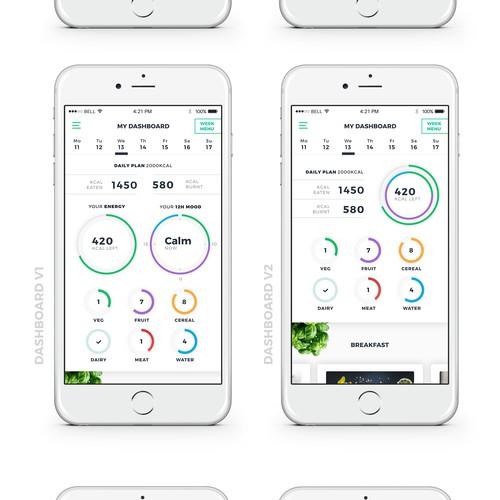 Health and mood app