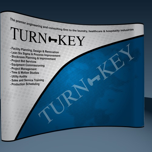 Trade Show Booth Design for Engineering Firm