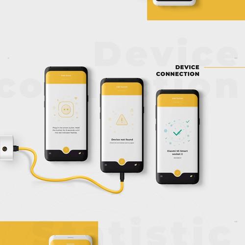 CE smart Home app design