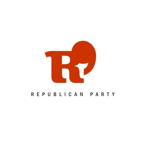 Logo redesign concept for Republican party