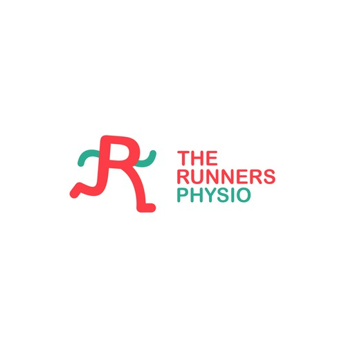 Fun Logo for Runners Physio