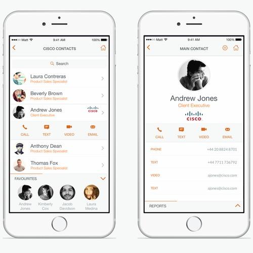 iPhone App Design