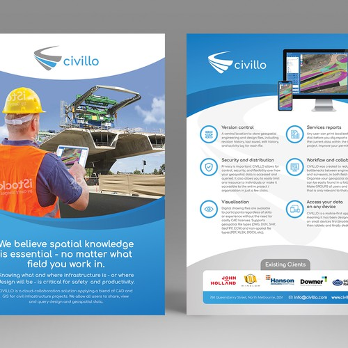 Civillo - Technology Company with a construction application needs your help!