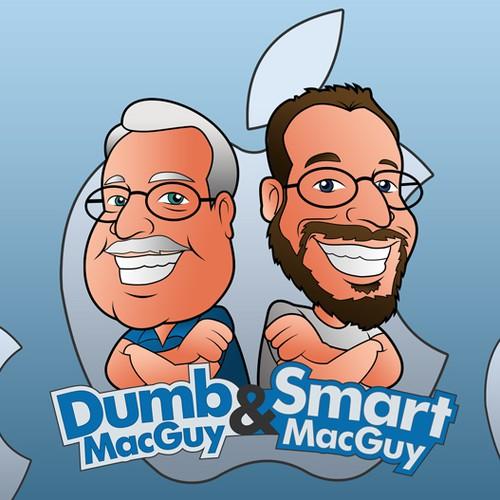 dumb & smart macguy
