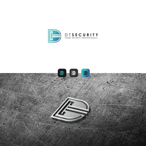 LOGO DT SECURITY - Home security professionals