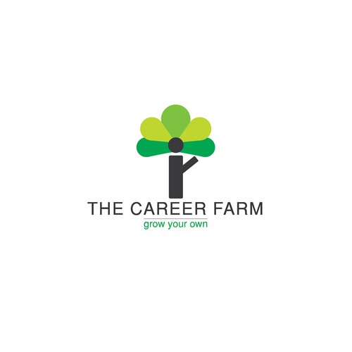 "Logo for ""The Career Farm"""