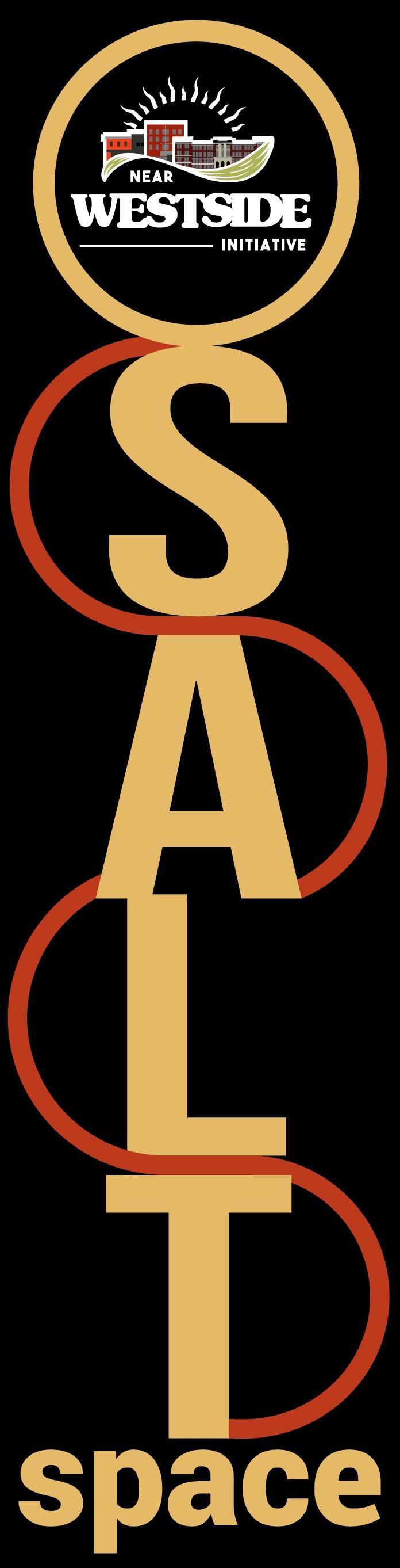 SALTspace vertical logo for signage