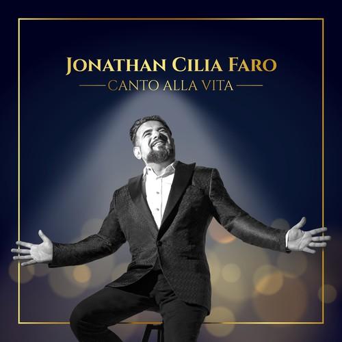 """CD cover design for Jonathan Cilia Faro single """"Canto alla vita"""""""