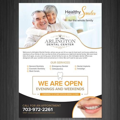 Dental Clinic Flyer Design