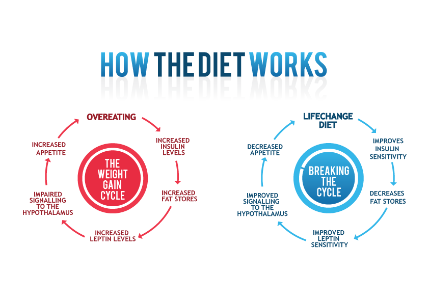 LifeChange Diet and Health needs a new design