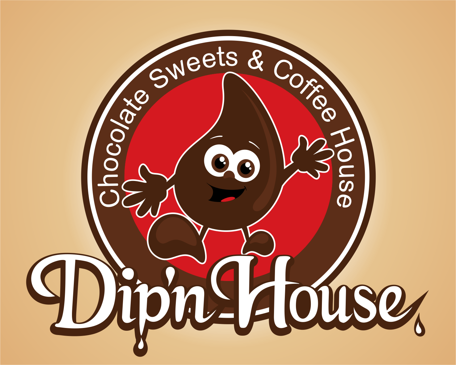 Create the next logo for Dip'n House