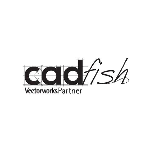 "Logo-design: ""cadfish""  (sales office for CAD-software)"