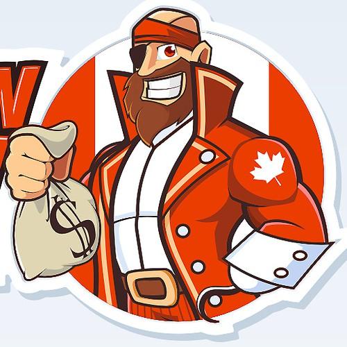 Create a logo design for CaptainCash !