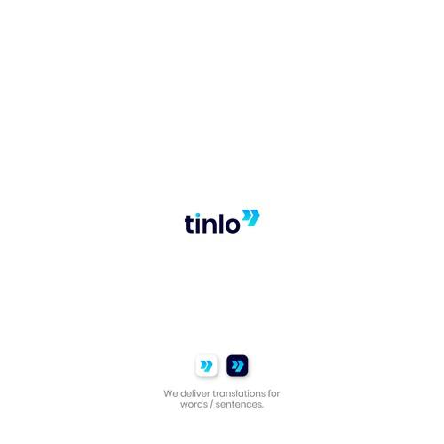 Unused wordmark logo for tinlo