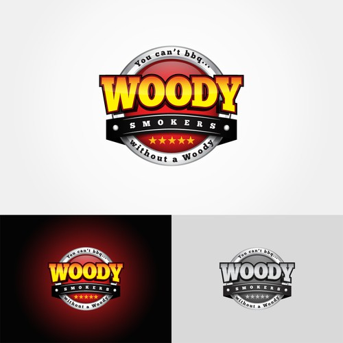 logo for Woody Smokers