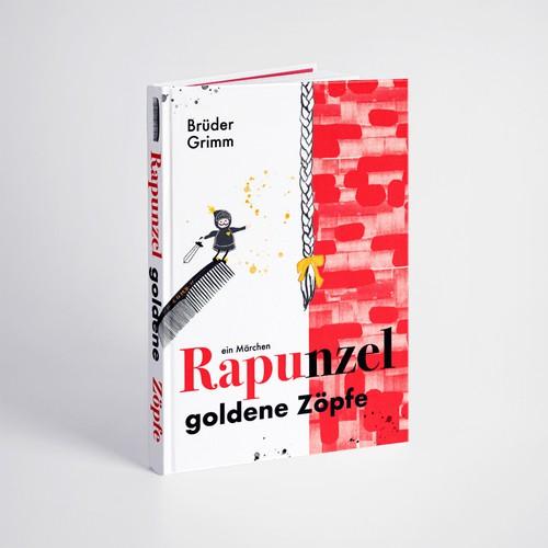 "Book cover ""Rapunzel"""
