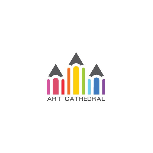 Art Cathedral Logo Design.