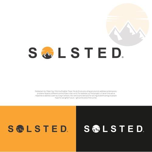 Solsted Logo Design