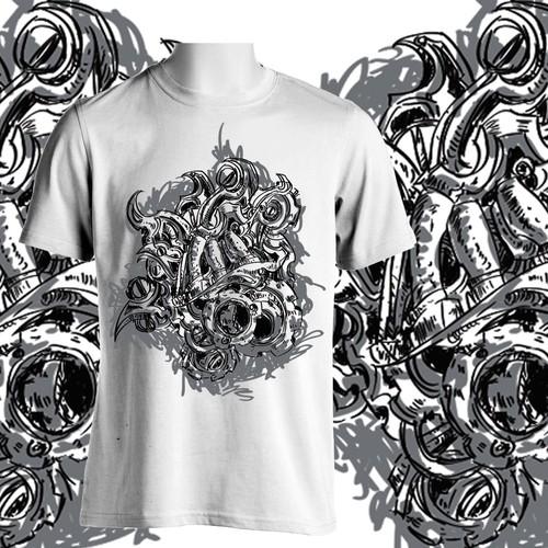 Steampunk-style art/illustration needed forlegendary MMA clothing line!