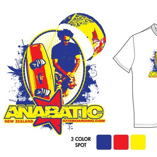 Kite boarding Tee Shirt design(s)