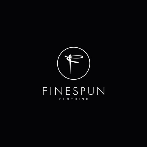 FineSpun Clothing Logo Design